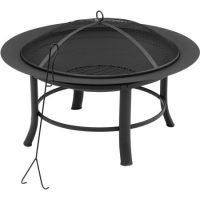 28″ Mainstays Fire Pit, Under $30! (Save over $20!)