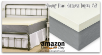 Memory Foam Mattress Topper $51.99 +Free Ship *Deal of the Day*