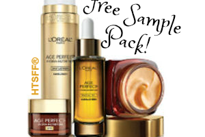 Free L'Oreal Paris Sample Pack ~ Available Again!