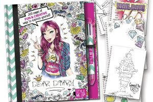 Style Me Up! Dear Diary ~ Cute Teen/Tween Gift! *Lightning Deal*