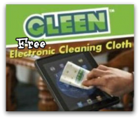 FREE Gleen Electronics Cleaning Cloth!