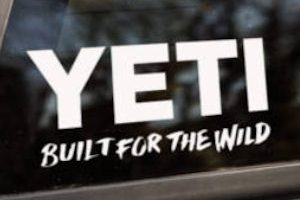 Fun Freebie! ~ Free Yeti Sticker