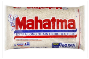 5lb. Mahatma Rice at Publix for $1.74 (just .35/lb!) +Get Coupons!