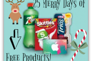 11/25-12/19: Kroger & Affiliates—25 Merry Days of Free Products!