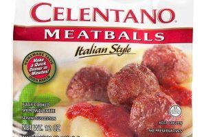 $1.50 Celentano Meatballs @ Publix, 11/10-16