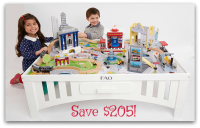 68% off FAO Schwarz Big City Play Table!!!