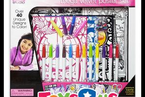 $5 Mega Velvet Poster Art Kit (Reg/$20) Ships FREE!