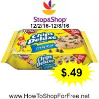 Whoa! Keebler Cookies only $.49 at Stop & Shop (12/2/16-12/8/16)