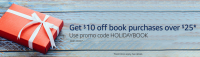 $10 off $25 Book Purchase Coupon Code ~ Amazon!!!