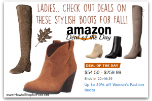 *Deal of the Day* Up to 50% off Women's Fashion Boots!