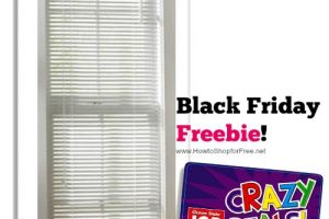 Mini Blinds, as low as FREE @ Job Lot ~ Black Friday