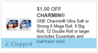 Save $1 on Charmin with a NEW Coupon!