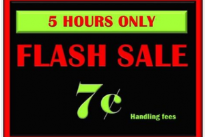 Mark Your Calander 12/5 Daily Dimes Flash Sale