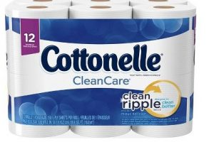 Cottonelle bath tissue for a GREAT price!