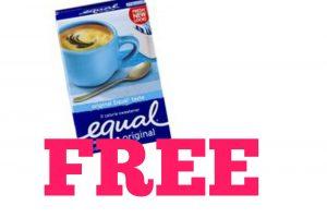 F-R-E-E Equal sweetener