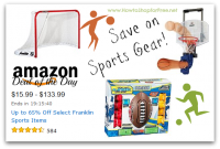 Up to 65% off Select Franklin Sports Items *Deal of the Day*