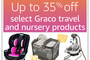 Up to 35% off select Graco Car Seats and Gear! *Deal of the Day*