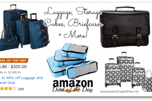 *Deal of the Day* Up to 60% off Luggage and Travel Gear!