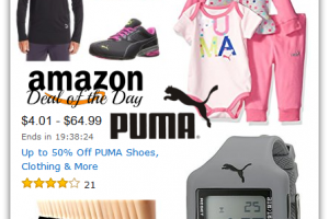 Up to 50% Off PUMA Shoes, Clothing & More! *Deal of the Day*