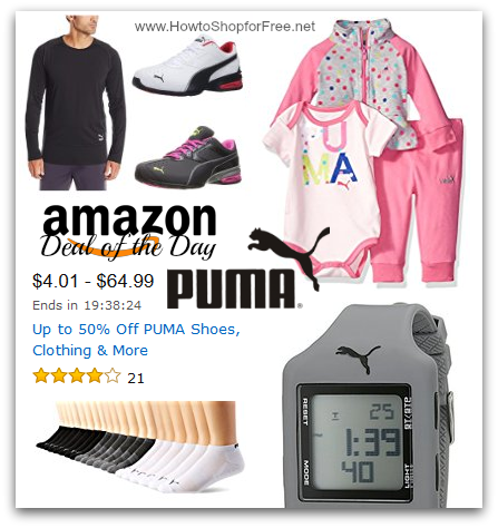 size 40 fb6d5 00a89 PUMA Gear DotD! | How to Shop For Free with Kathy Spencer