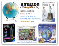 Up to 50% off Ravensburger Puzzles & Games *Deal of the Day*