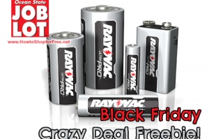 FREE Ray-O-Vac Batteries @ Job Lot ~ Black Friday