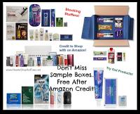 FREE Amazon Sample Box Recap ~ Still Available!