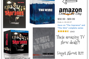 """The Sopranos"" & ""The Wire"" Complete Series *Deal of the Day*"