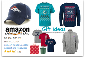 35% off Youth Licensed Hats & Clothes—Deal of the Day!