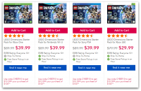 $50 OFF Lego Dimensions +Additional Savings Offers!