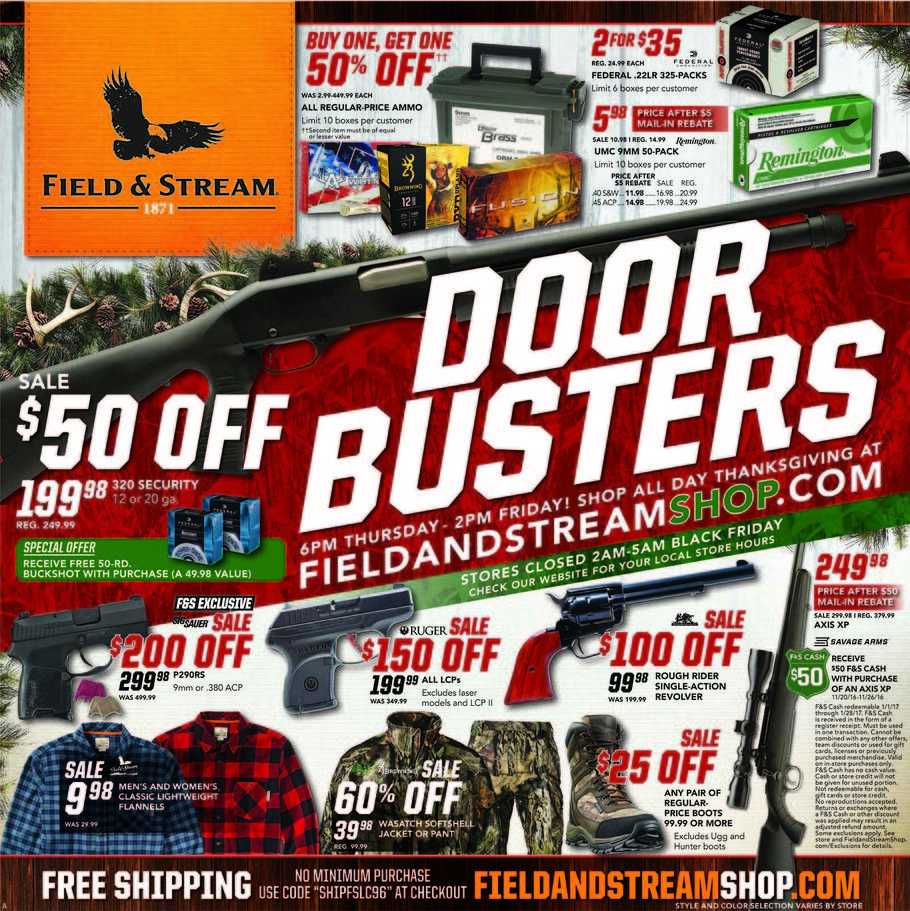 Field Stream Bf Ad How To Shop For Free With Kathy Spencer