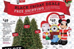 Lowe's Black Friday Ad Scan