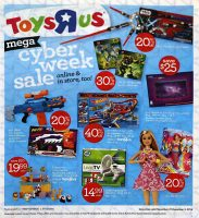 """Toys""""R""""Us Cyber Monday Ad Scan"""