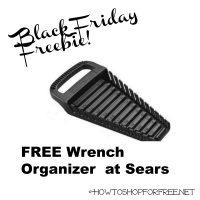 FREE Wrench Organizer