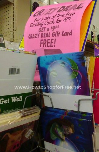 Free greeting cards how to shop for free with kathy spencer free tree free cards at ocean state job lot m4hsunfo