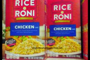 63¢ Rice-A-Roni/Pasta-Roni at Dollar Tree ~ Print Now!