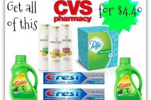 Get all this for $4.40 at CVS! (1/1 through 1/7)