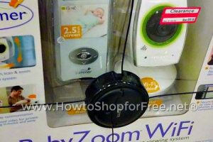 $100 OFF Baby Zoom™ WiFi Video Baby Monitor! Save 50%