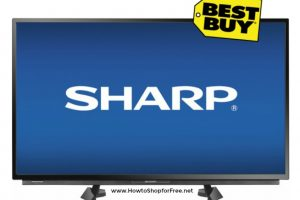 32″ Sharp HDTV ~ Save $50, Today Only!