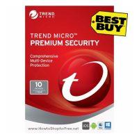 $29.99 Trend Micro Premium Security (10-Devices) SAVE $70!!