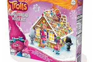 Trolls Gingerbread House Kit UNDER $20!