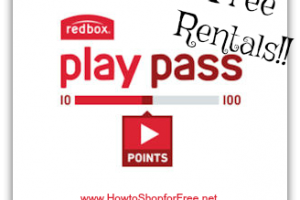 Free Redbox Movie Rentals with Play Pass