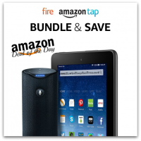 Save $80 on Fire Tablet and Amazon Tap Bundle—Deal of the Day