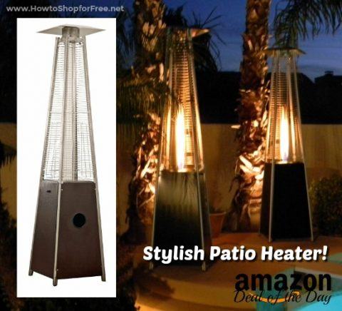 $173 AZ Quartz Glass Tube Patio Heateru2014Deal Of The Day