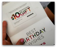 Join Yes2You, Get Free $10 Kohl's GC for Your Birthday!