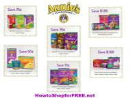 Annie's Printable Manufacturer's Coupons