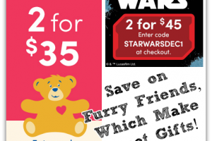 Save on Build-A-Bear Furry Friends! NEW Offers!