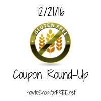 Gluten Free Coupon Round-Up 12/21/16!