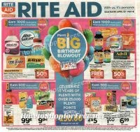 Rite Aid Ad Scan ~ April 30-May 6