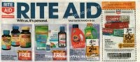Rite Aid EARLY Ad Scan ~ March 19-25